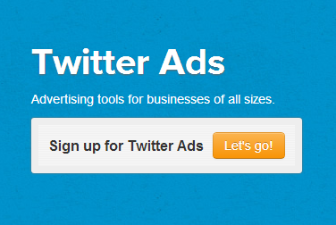 Twitter ad options