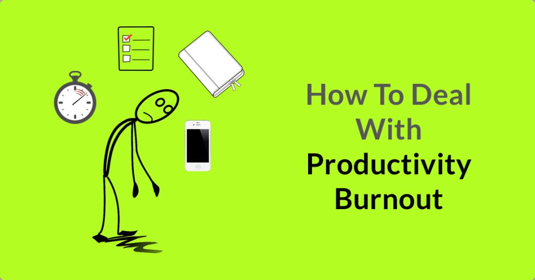 Productivity burnout